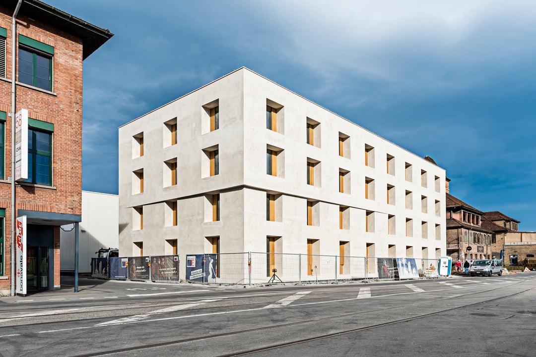 Neubau Bürogebäude Emmenweid bald fertiggestellt – bhp Baumanagement AG