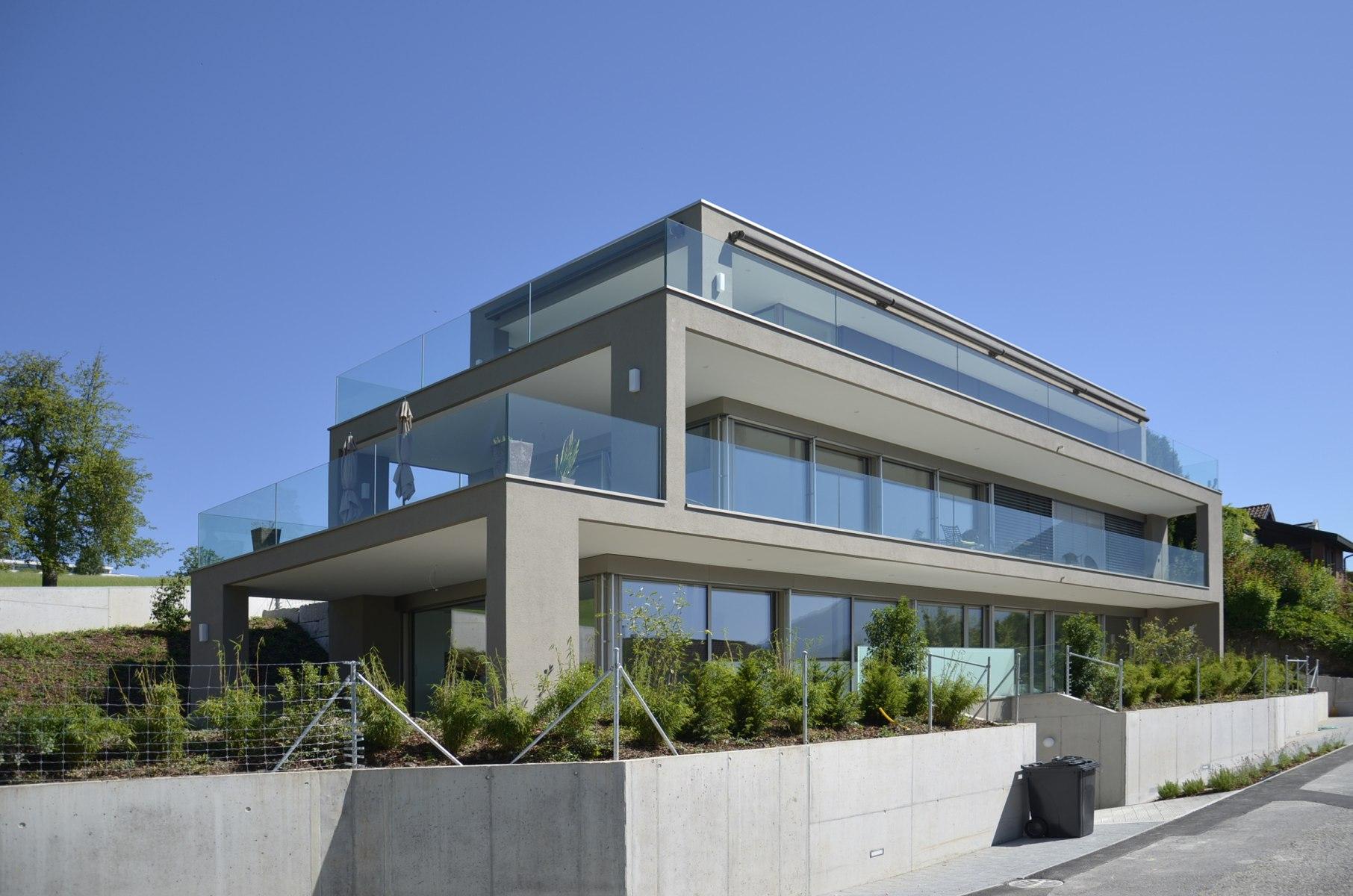 bhp Baumanagement AG –Neubau Mehrfamilienhaus Böschenacherweg