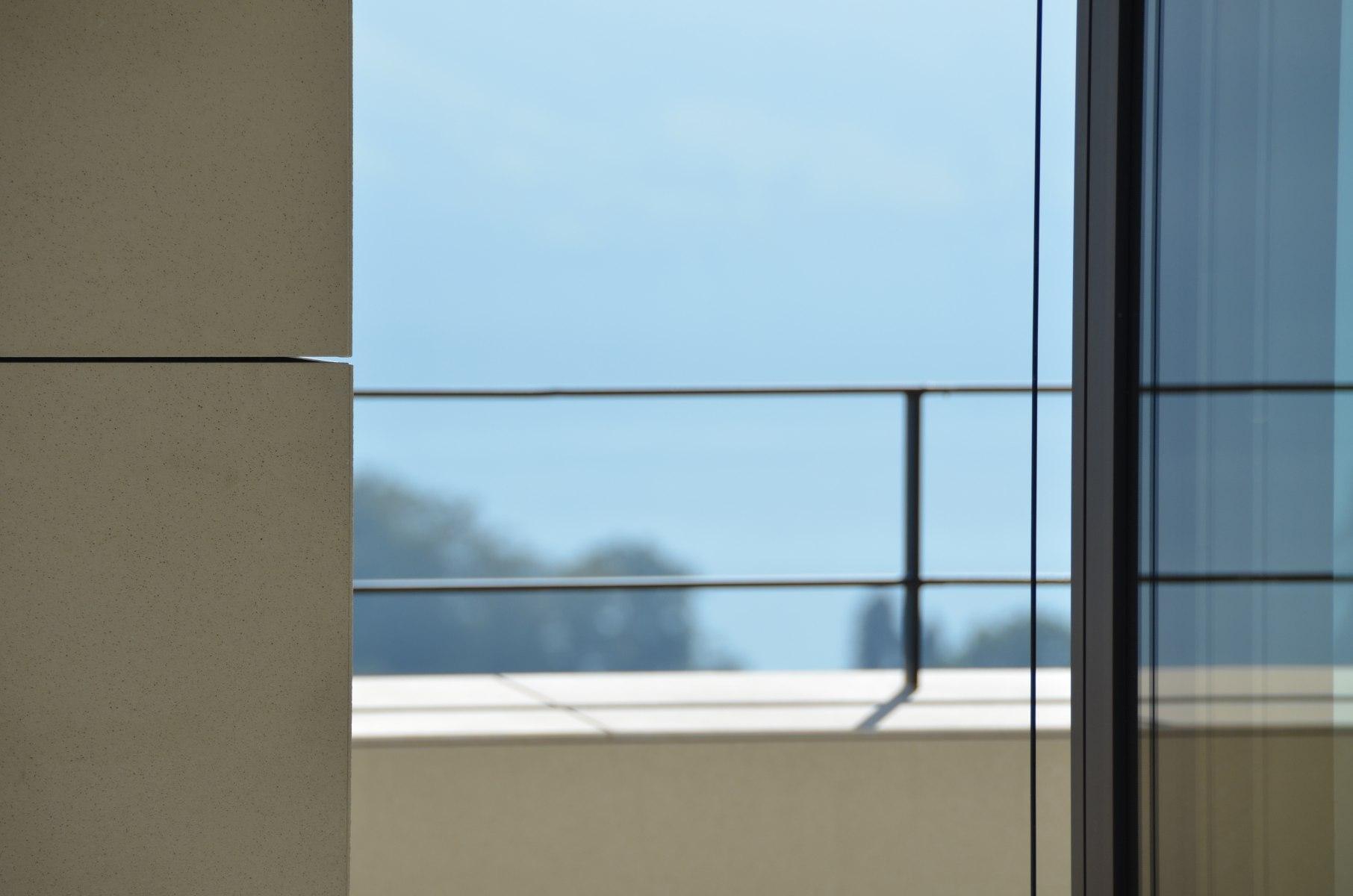 bhp Baumanagement AG – Neubau Zweifamilienhaus Schwerzihöhe – Fassadendetail